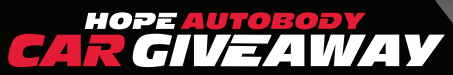 Hope Autobody Car Giveaway